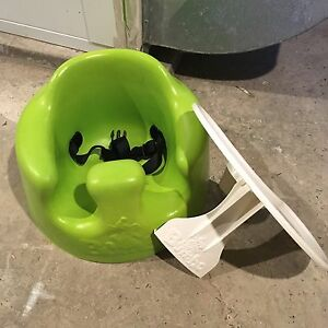 Bumbo Chair with tray and straps