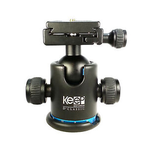 12KG Metal Ball Head Ballhead + Quick Release Plate for Tripod DSLR Camera