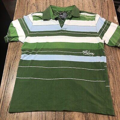 Billabong Men's Striped Polo Shirt Size L #15746