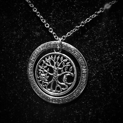 New Tree Of Life Necklace   Pendant Love Dream Hope Trust Vintage Silver Charm