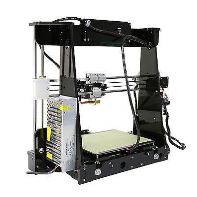 3D Printer w/MK8 Extruder Free PLA Filament Mac Button Operated High Precision
