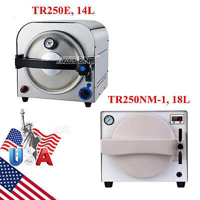 14l18l Dental Autoclave Steam Sterilizer Medical Sterilization Stainless Steel