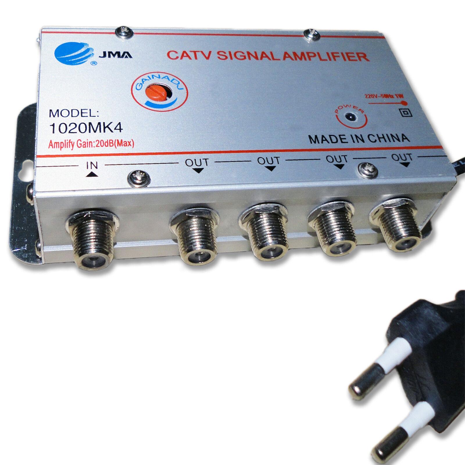 Amplificador se al television tv sat satelite signal cable - Amplificador senal tdt ...