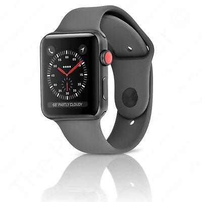 Apple Watch Series 3 42mm Space Gray Aluminium w/ Gray Band (GPS+Cellular)