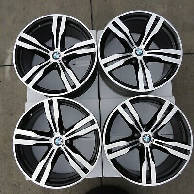 2016-2018 BMW 7-SERIES SET OF 4 OEM  20X8.5  20X10 WHEELS MPN# 7850581 / 7850582