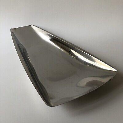 Vintage Gense Sweden Stainless Steel Serving Bowl Plate Scandinavian MCM Modern