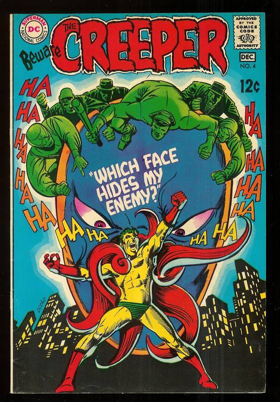BEWARE THE CREEPER # 4-1969-STEVE DITKO-DENNY O