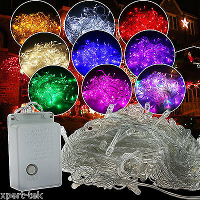 32ft 100-LEDs String Fairy Lights Christmas Wedding Halloween Party Waterproof - Party String Lights Halloween Lighting