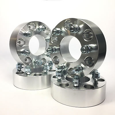 4X HUBCENTRIC WHEEL SPACERS | 6X4.5 (6X114.3) | 71.5 CB | 1/2 STUDS | 1.5 INCH