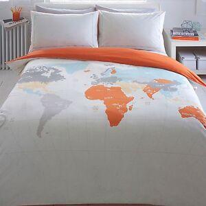 Ben De Lisi Home World Print 39 Map 39 Bedding Set From Debenhams Ebay