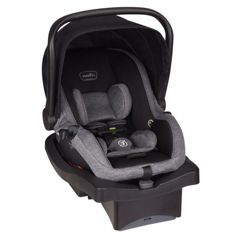 Evenflo Advanced SensorSafe LiteMax 35 Infant Car Seat, Raven Jet Black