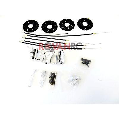 1/5 Rovan 4-Wheel Mechanical Brake Kit Fits HPI Baja 5b 5T 5SC King Motor Buggy