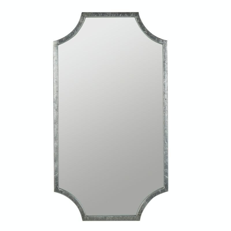 Cooper Classics Destin Wall Mirror - Silver Leaf  MSRP $249.99