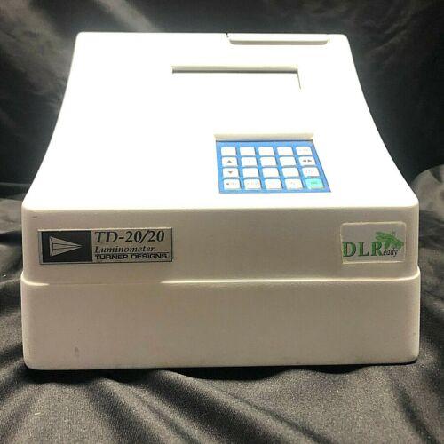 Turner Designs Model TD-20/20 (TD2020-000) Luminometer DLR Ready w/ Power