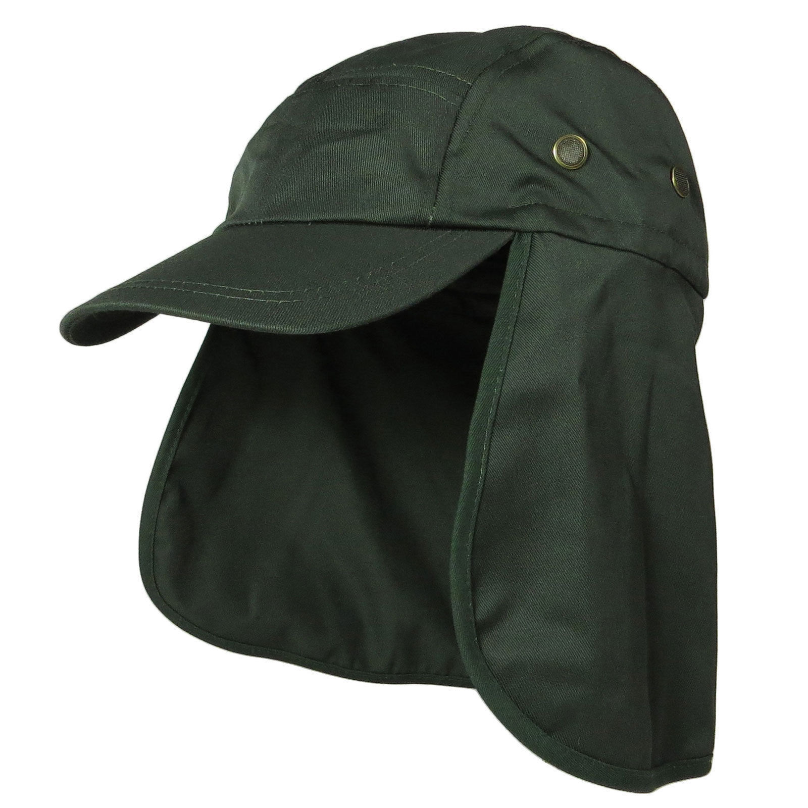 25158d11c26 Buy Baseball Cap Camping Boonie Fishing Ear Flap Sun Neck Cover Visor Camo  Army Hat at online store