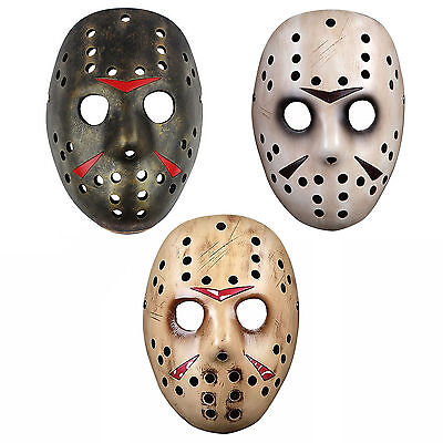 Horror Movie Friday the 13th Jason Voorhees Hockey Mask Masken Kostüm - Kostüm Jason Friday 13th