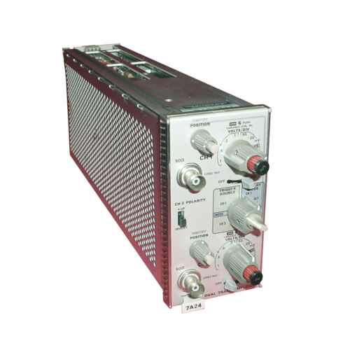 Tektronix 7A24 Dual Trace Amplifier Module for 7000 Series Oscilloscopes