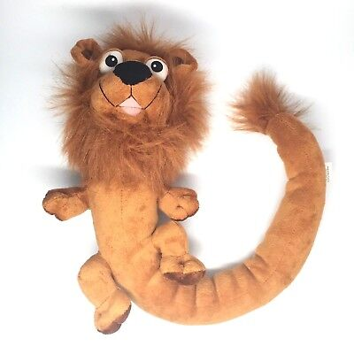 Vintage Peek A Boo Lion With Bendable Tail Drape Him Over Shoulders or Anywhere