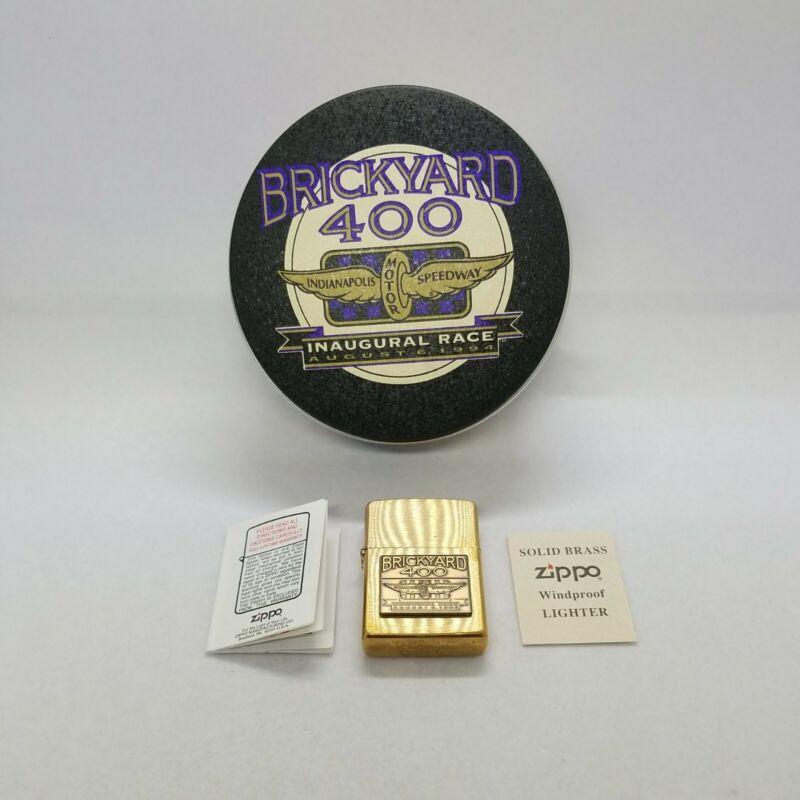 Brickyard 400 Indianapolis Motor Speedway August 5, 1995 Zippo Lighter Unused!!!