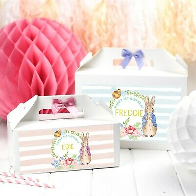 First Birthday Activities (PERSONALISED BIRTHDAY BOX ACTIVITY | PETER RABBIT | BABY SHOWER 1ST)