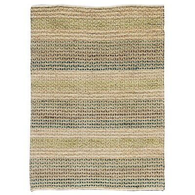 Runners Seagrass Rug (Natural Hemp & Seagrass with Green Modern Rustic look strong Rugs & Hall Runner )