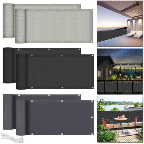 Balkonsichtschutz Balkon Sichtschutz Bespannung Terrasse 6m Sonnen Wind Schutz