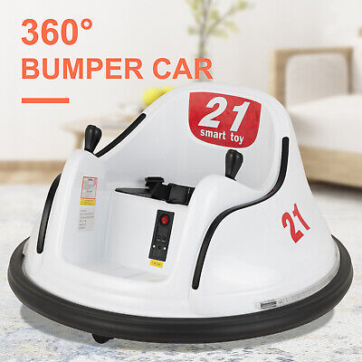 6V Kids Bumper Ride on Car 360 Degree Spinning Electric Motorized Vehicles