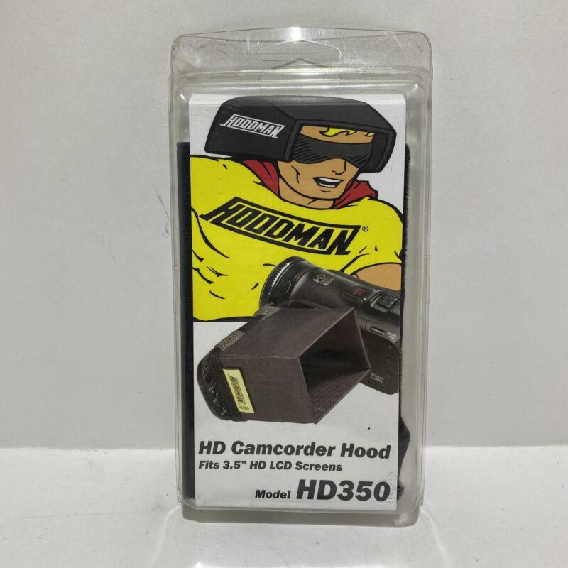 Hoodman HD350 Video Fits 3.5 LCD Screens Camcorder Hood
