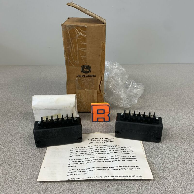 Detroit Diesel 5146219 Relay (Time Delay Switch), Part of Kit 8921717, *Lot of (