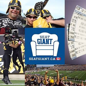 HAMILTON TIGERCATS TICKETS!!!