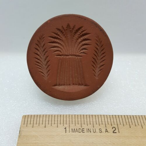 Vintage RYCRAFT 1971-92 Retired WHEAT SHEAF Wheat Bundle Cookie Stamp 063-1E
