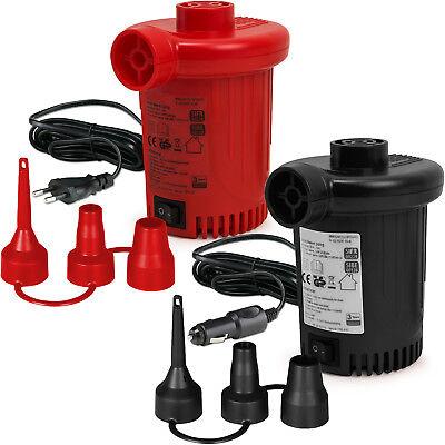 DEUBA® Elektrische Luftpumpe Elektropumpe 230V 12V Gebläsepumpe Pumpe