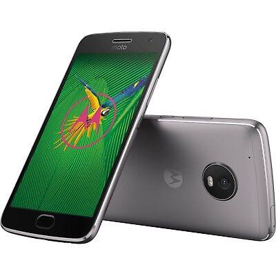 MOTOROLA Moto G5 Plus 32GB Gray AT&T T-mobile Sprint Verizon Unlocked Android