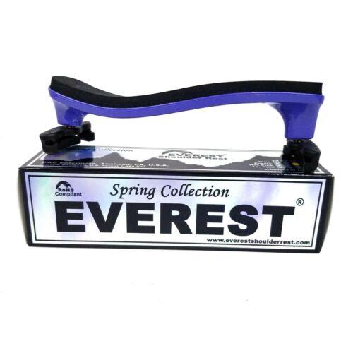Everest Purple ES Series 3/4 - 1/2 Violin Adjustable Shoulder Rest NEW