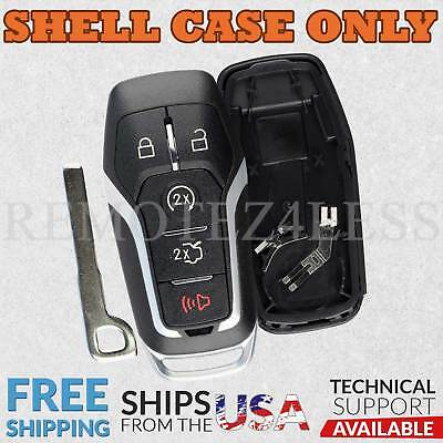 Shell Case For 2015 2016 2017 2018 Ford F-150 Keyless Entry Remote Key Fob