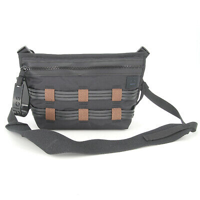 Acne Studios Black Ripstop Belt Cross Body Bag