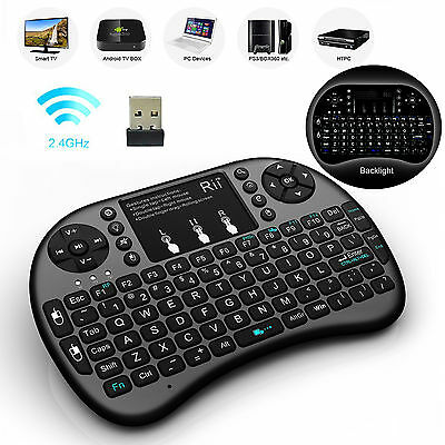With Backlight Rii Mini I8  Wireless Keyboard  For Smart Tv Pc Android Tv