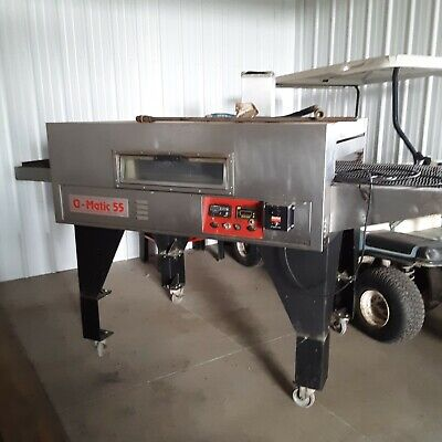 Q-matic 55 Commercial Conveyor Pizza Oven