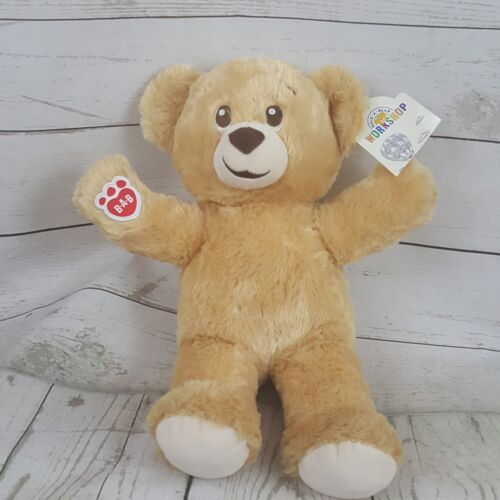 "NWT Build a Bear Workshop 15"" Limited Edition Lil Honey Cub Plush Bear 2017"