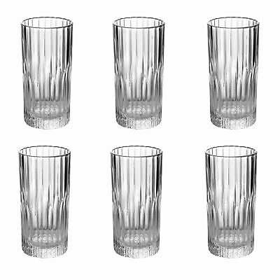 Duralex Manhattan Vintage Collins Gin Highball Cocktail Glasses 305ml x6