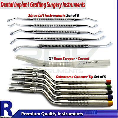 Implants Sinus Lifting Implant Surgery Bone Grafting Scraper Dental Osteotome