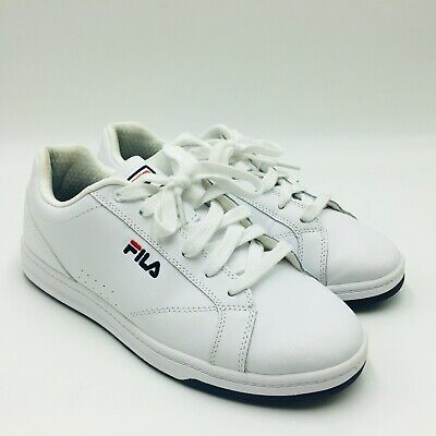 Fila Women's Reunion Leather Court Shoes - Casual White Sneakers, P/O