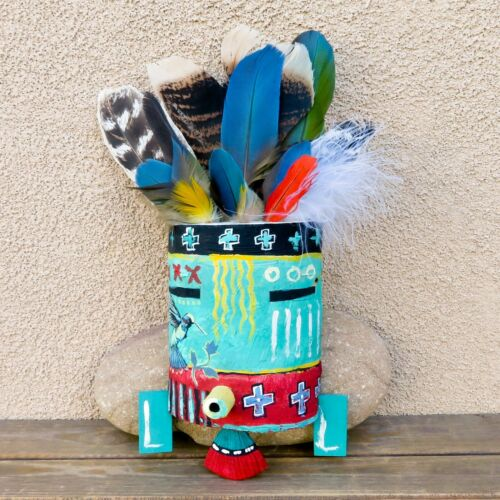 Native American Art-Hopi Hummingbird SPIRIT MASK-Richard Gorman