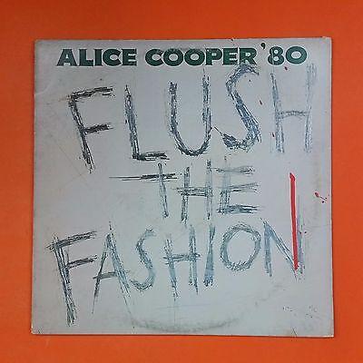 ALICE COOPER Flush The Fashion BSK 3436 Sterling LP Vinyl VG++ Cover VG+ Sleeve