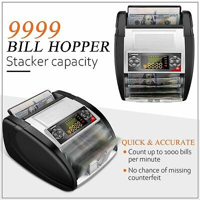 Money Counter With Uvmgir Detection Bill Counting Machine With E 10