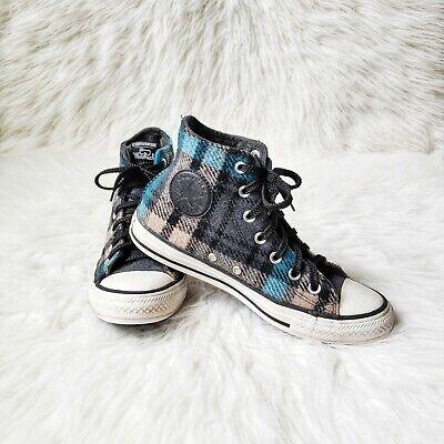 Converse Woolrich Chuck Taylor All Star Sneakers Plaid- men size 5.5/women 7.5