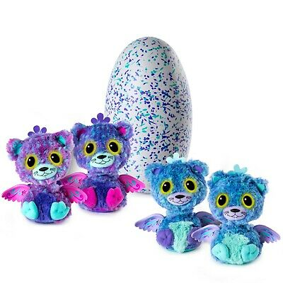 Brand New Hatchimals Surprise PEACAT Twins EGG (2 interactive pets per egg)