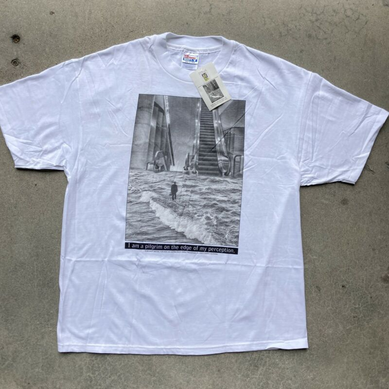 New With Tags Vintage 1995 Scott Mutter The Escalator Art T-shirt Size XL