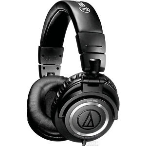 Audio Technica ATH-M50s Premium Studio Headphones with Straight Cable US48 2-DAY