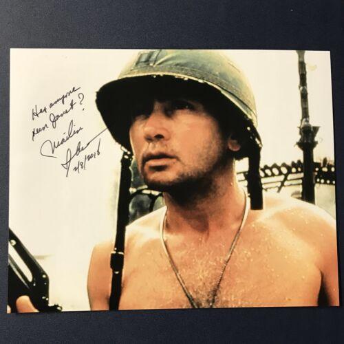 MARTIN SHEEN SIGNED 8x10 PHOTO ACTOR AUTOGRAPHED APOCALYPSE NOW STAR RARE COA - $29.74